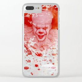 Pennywise Clear iPhone Case