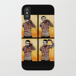 The Zombie Mime! iPhone Case