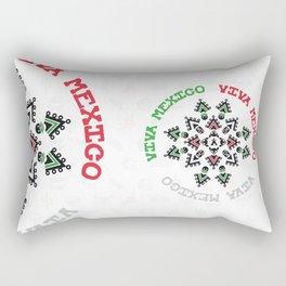 "ACHIOTE ""VIVA MEXICO"" Rectangular Pillow"