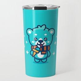 Ice Cream Bear Travel Mug