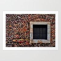 Torture Chamber Kalemegdan Fortress Art Print