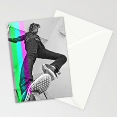 Human abstract Stationery Cards