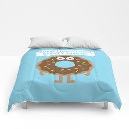 It's Not All Rainbow Sprinkles... Comforters