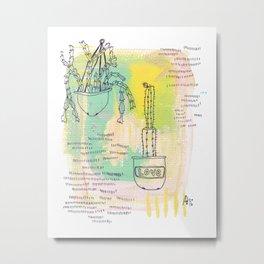 Plant Mates Metal Print