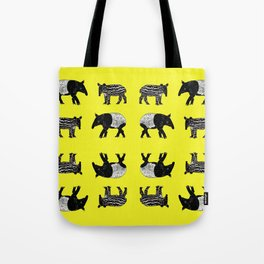 Dance of the Tapirs Tote Bag