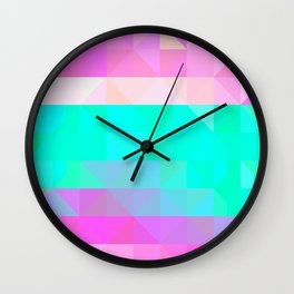 Pink Natures Wall Clock