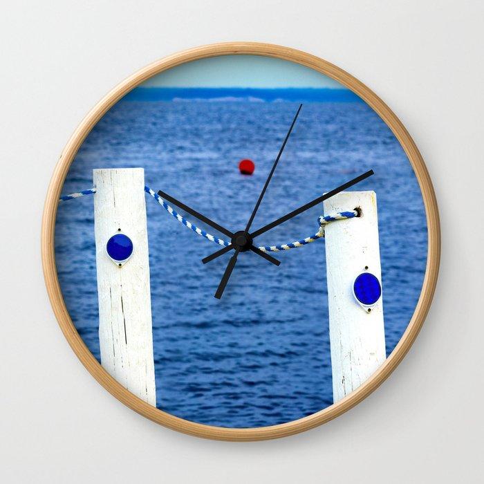 Swim Area Wall Clock