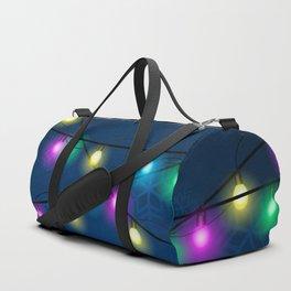 Christmas lights Duffle Bag