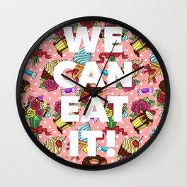 Eat It Bitch! Wall Clock