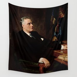 FDR Official Portrait Wall Tapestry
