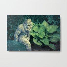 Bigfoot Sighted Metal Print