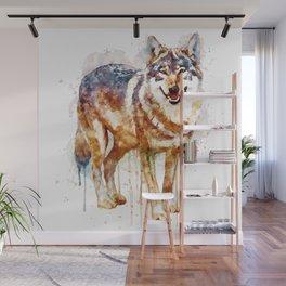 Alpha Wolf Wall Mural