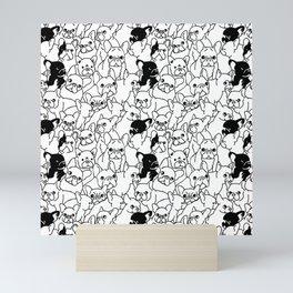 Oh French Bulldog Mini Art Print