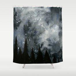 Midnight Sky Shower Curtain