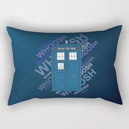 Tardis Whoosh sound Doctor Who Rectangular Pillow