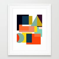 geo Framed Art Prints featuring Geo by Mr and Mrs Quirynen