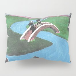 Looking for Nessie - Scotties - Scottish Terriers Pillow Sham