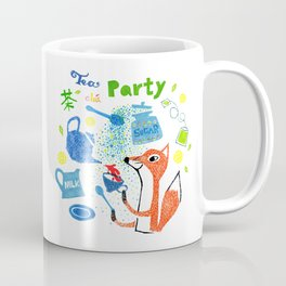 Fox tea party Coffee Mug