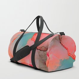 BETTER TOGETHER - LIVING CORAL by MS Duffle Bag
