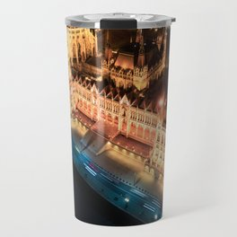 Budapest's Parliament Building, Hungary Travel Mug