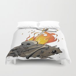 A Distinguished Fire Duvet Cover