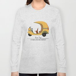 Coco Taxi - Cuba in my mind Long Sleeve T-shirt