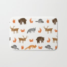 Forest creatures Bath Mat