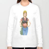 cinema Long Sleeve T-shirts featuring cinema by ErsanYagiz