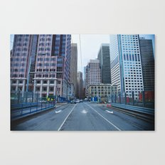Face What Others Stay Away From  Canvas Print