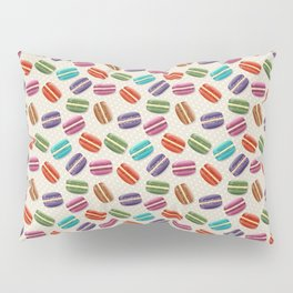 Colorful Macaroon Pillow Sham