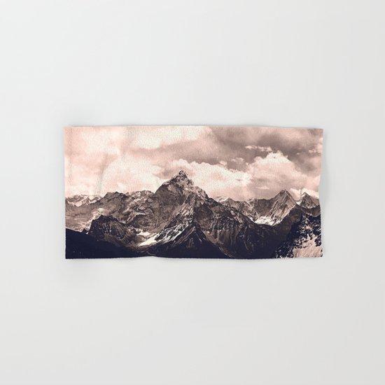 Pink Mountain Hand & Bath Towel