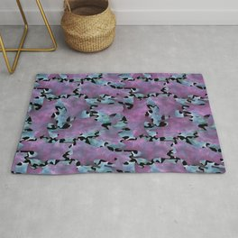 Modern Abstract Texture Pattern Rug
