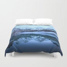 Icelandic Lake (cool) Duvet Cover