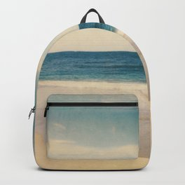 Vintage Beach Photographic Pattern #2 Backpack