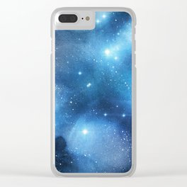 Exploring the Universe 15 Clear iPhone Case