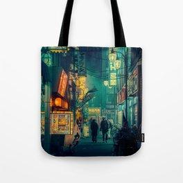 Tokyo Nights / Memories of Green / Blade Runner Vibes / Cyberpunk / Liam Wong Tote Bag