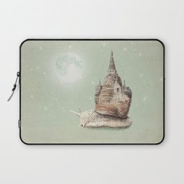 The Snail's Dream Laptop Sleeve