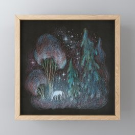Stardust Framed Mini Art Print
