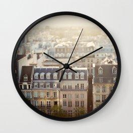 Dans Mon Reve de Paris Wall Clock