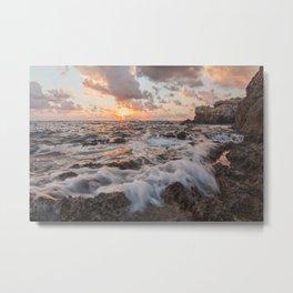 Tranquility at sunset Metal Print