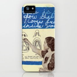 INSPECTION iPhone Case
