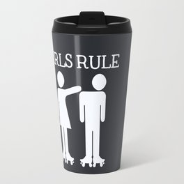 Girls Ruler Roller Derby Travel Mug