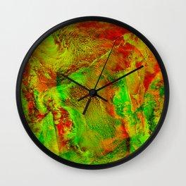 4G-Seastorm ketchupwithpeas Wall Clock