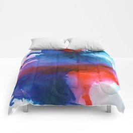 The Dancer - Abstract Art Comforters