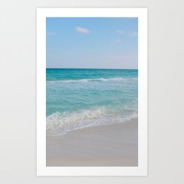 Once upon a time in Cancun Art Print