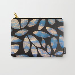 Leaf Pattern 01A Carry-All Pouch