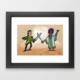 Use Verb on Noun #27: King's Quest VI Framed Art Print