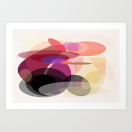 Movement Art Print