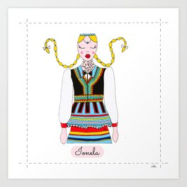 IONELA Art Print