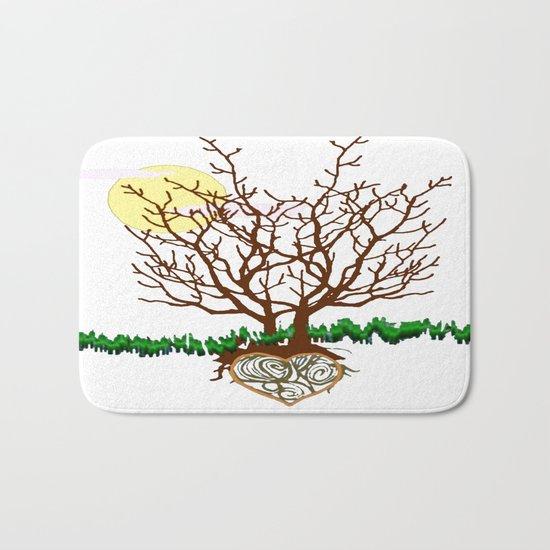 The Loving Tree Bath Mat